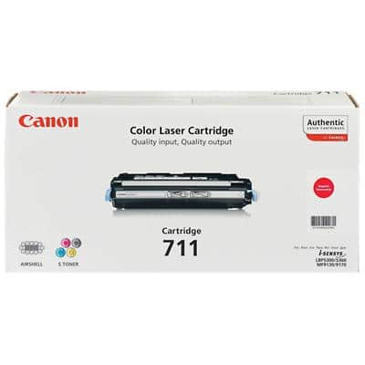 Canon 711M Original Toner Cartridge Magenta