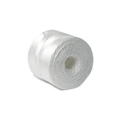 Cotton string ball 220m white