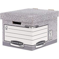Fellowes Storage Boxes Grey cardboard 10 pieces