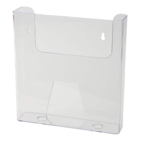 Wall Mounted Transparent A5 Brochure Holder