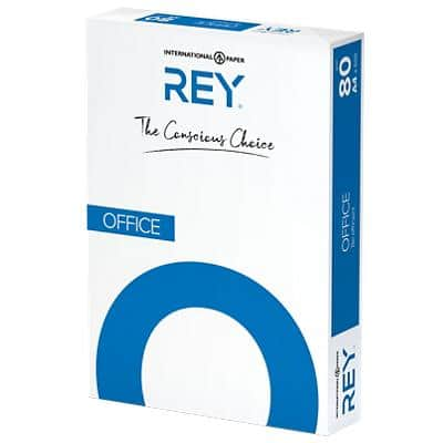 Rey Office Document Copy Paper A4 80gsm White 500 Sheets