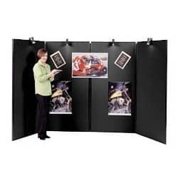 Jumbo 4 Panel Display Unit-Black