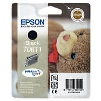 Epson T0611 Original Ink Cartridge C13T06114010 Black