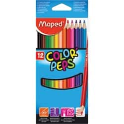Maped Color'Peps Colouring Pencils - Pack 12