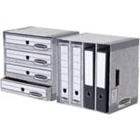 BANKERS BOX® System File Store  Grey - Pack of 1
