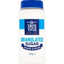 Tate & Lyle White Sugar Shaker – 750 g Drum