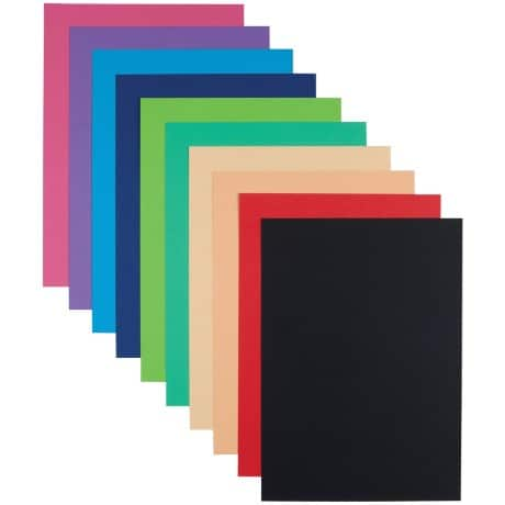 Art And Craft Card Vivid Colour A4 100 Sheets Per Pack
