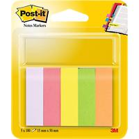 Post-it Note Markers 15 x 50 mm 5 pads
