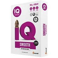 IQ Smooth Printer Paper A4 100gsm White 500 Sheets