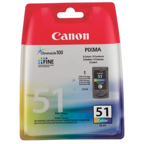 Canon CL-51 Original Ink Cartridge Colour