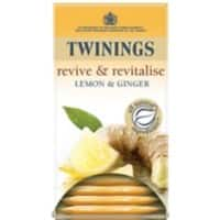 Twinings Lemon and Ginger Tea Bags 20 Pieces