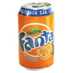 Fanta Orange Fizzy Drink 330 ml 24 pk