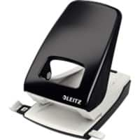 Leitz Hole Punch 5138 Black 40 Sheets