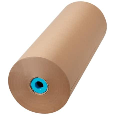 Imitation Kraft Paper Roll 500 mm x 250 m- Brown