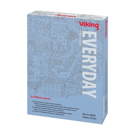 Viking Everyday Copier Paper A4 80gsm White 500 sheets