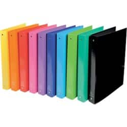 Exacompta Ring Binder A4 4 ring 40 mm Assorted 10 pieces