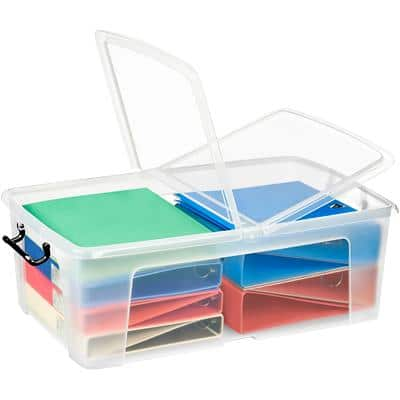 Strata Smart Plastic Storage Box 230 H x 450 W x 700 D mm 50 L