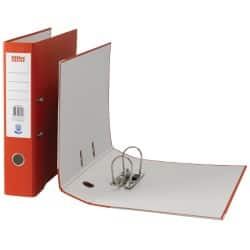 Office Depot Lever Arch File Foolscap 2 ring 75 mm Red