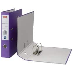 Office Depot Lever Arch File Foolscap 2 ring 75 mm Purple