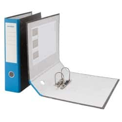 Niceday economy Lever Arch File Foolscap 2 ring 75 mm Blue