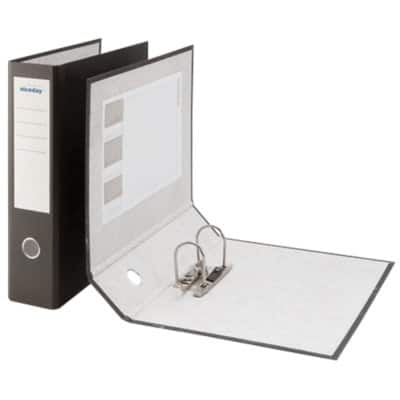 Niceday Economy Lever Arch File 80 mm Foolscap Black