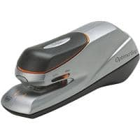 Rexel Optima Grip Contactless Electric Stapler 20 Sheets Silver, Orange
