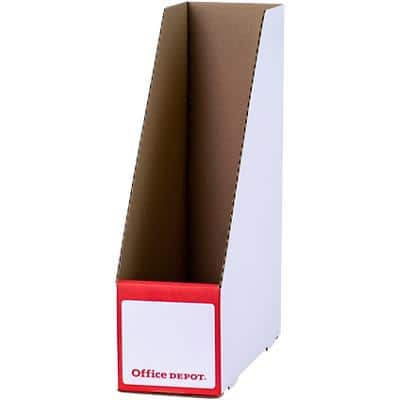 Office Depot Magazine File White 20 Pieces