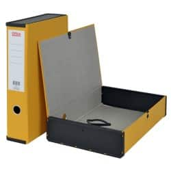 Office Depot Box File Foolscap 75 mm Yellow