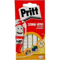 Pritt Sticky Tack 10x8mm White Pack of 65
