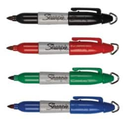 Sharpie Permanent Mini Markers - Assorted 4/pk
