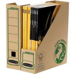 Bankers Box R-Kive® Earth Series™ Magazine Files - Pk 20