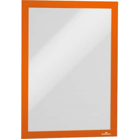 Durable Magaframe Magnetic Frame, Orange, A4 - Pack 2
