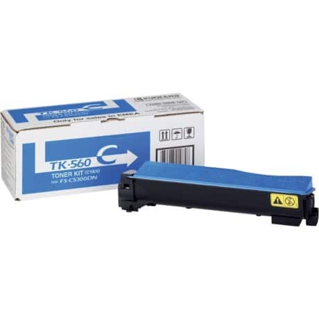 Kyocera TK-560C Original Toner Cartridge Cyan