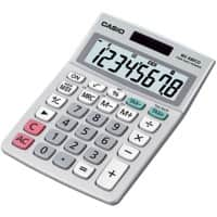 Casio Desktop Calculator MS-88ECO Grey 8 Digit Display