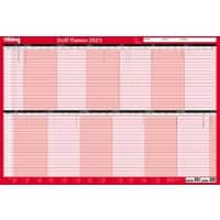 Office Depot Wall Planners 2020 Red