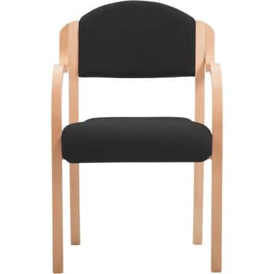 Stacking Chair Brentwood Black