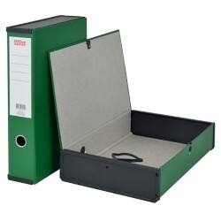 Office Depot Box File Foolscap 75 mm Green