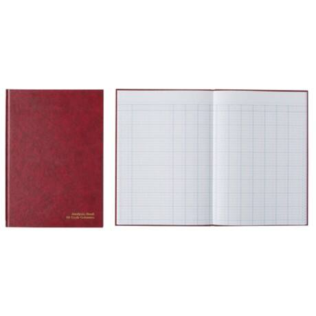 Office Depot Cash Analysis Book VKA010 A4 Ruled 30.5 x 20.8 cm Red 96 Sheets