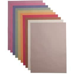 Sugar Paper A2 Assorted 100gsm 250 Sheets Per Pack