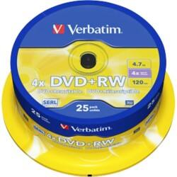 Verbatim DVD-RW 4 x 4.7 gb 25 pieces