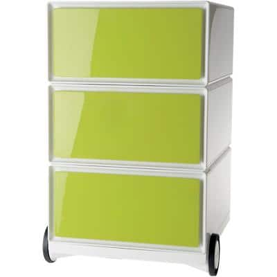 Paperflow Mobile Pedestal Easybox Green With 3 Drawers 390 x 436 x 642 mm