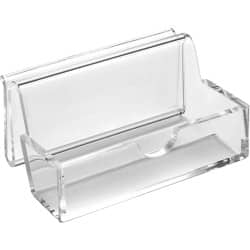OSCO clear acrylic Business card or phone holder