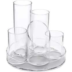 OSCO clear acrylic 5 Tube Pot