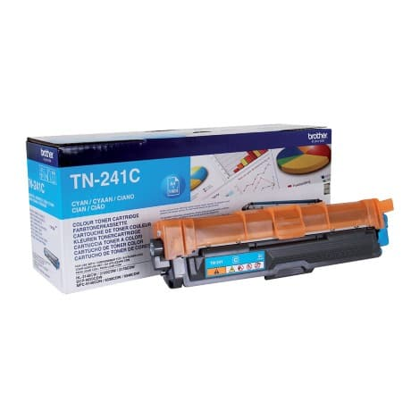 Brother TN-241C Original Toner Cartridge Cyan