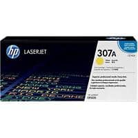 HP 307A Original Toner Cartridge CE742A Yellow