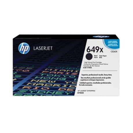 HP 649X Original Toner Cartridge CE260X Black 1
