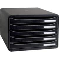 Exacompta Drawer Set Big-Box Plus A4+ 43 mm Black 35.5 x 27 x 27.1 cm