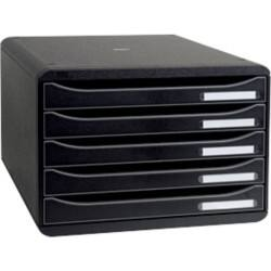 Exacompta Drawer Unit Big-Box A4+ Black 27 x 35.5 x 27.1 cm