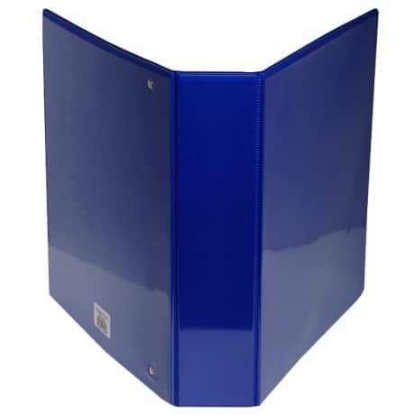Office Depot Presentation Binder A4 4 ring 90 mm Blue