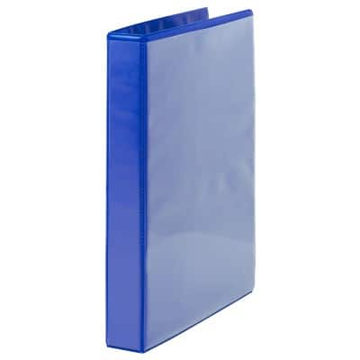 Office Depot 4 Ring Presentation Binder Blue A4 47 mm Spine